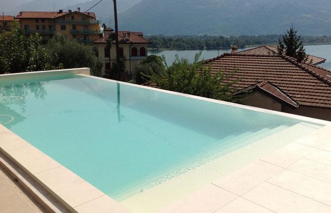 Officina dolcevita progettazione costruzione di piscine in - Piscina cemento armato ...